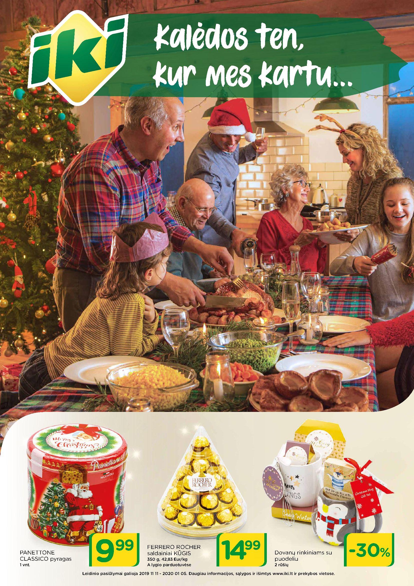IKI Kolėdos ten, kur mes kartu