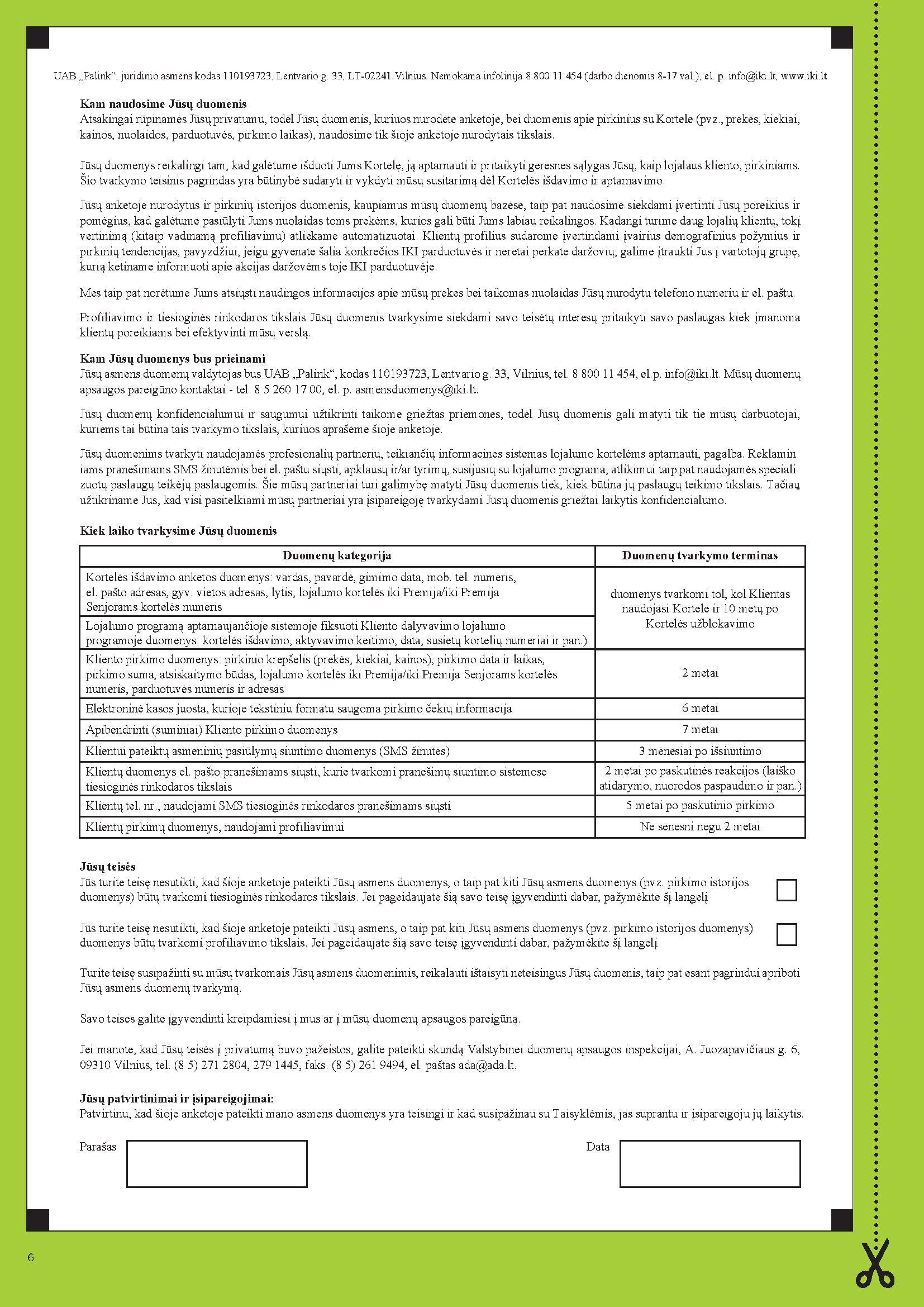 IKI Express Ulonų specialūs pasiūlymai page 6