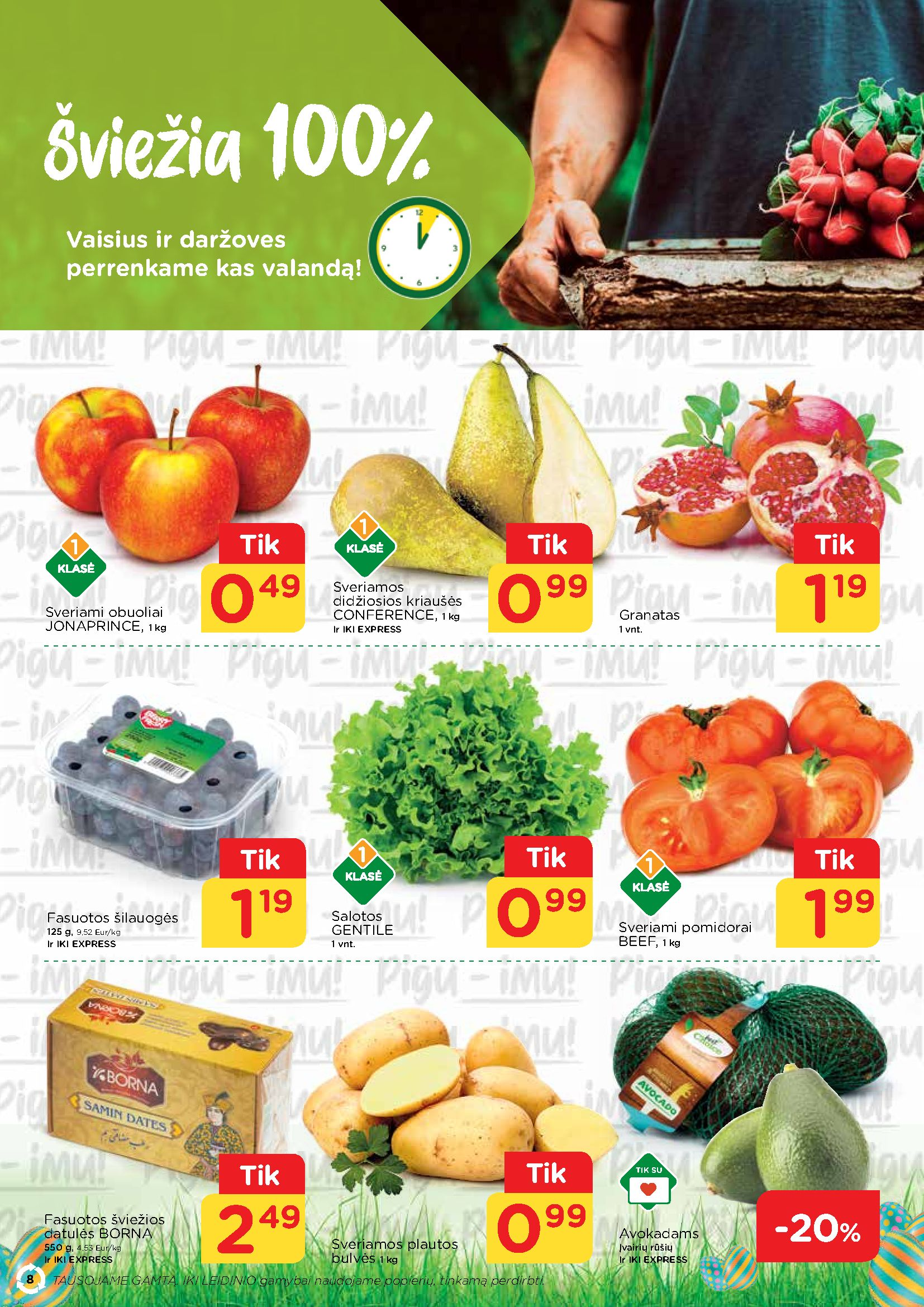 IKI Mažos kainos receptai page 8