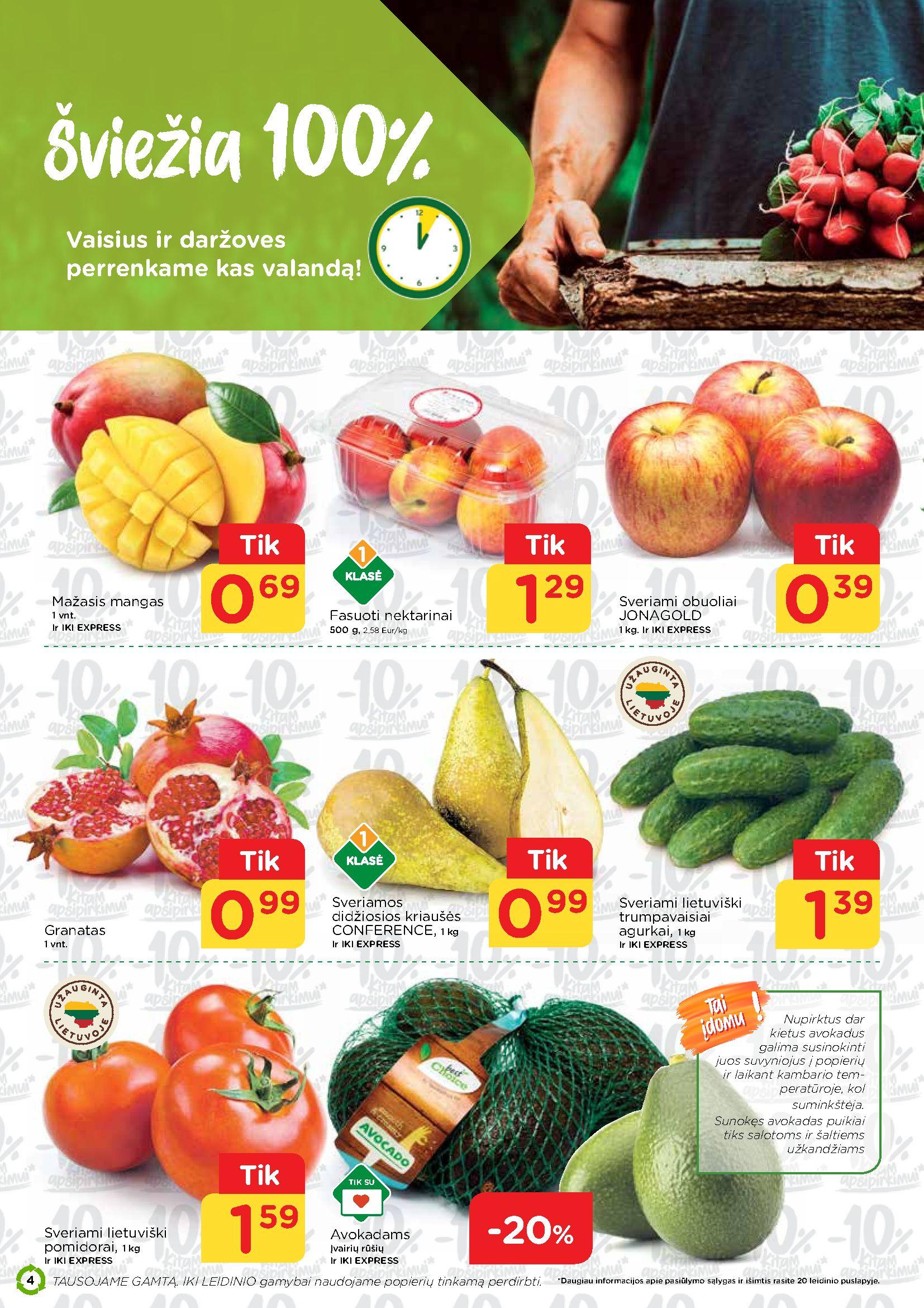 IKI Mažos kainos receptai Nr. 20 page 4