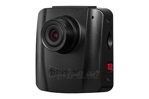 Automobilinis vaizdo registratorius Transcend Car Video Recorder 16G DrivePro 50, Non-LCD, with Adhesive Mount
