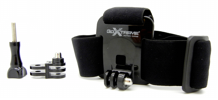 GoExtreme Head-Strap-Mount 2016