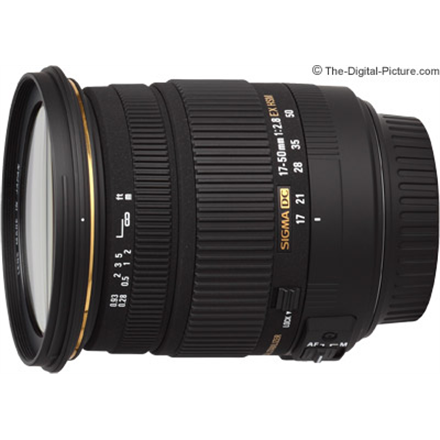 Sigma EX 17-50mm F2.8 DC HSM for Sony