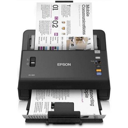 Skeneris Epson WorkForce DS-860 A4 sheet-fed scanner