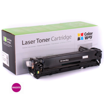 ColorWay Toner Cartridge, Magenta, HP CF213A (131M); Canon 731M