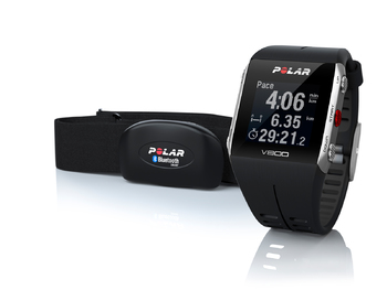 Polar V800 HR Black GPS Sports Watch with Heart Rate Monitor