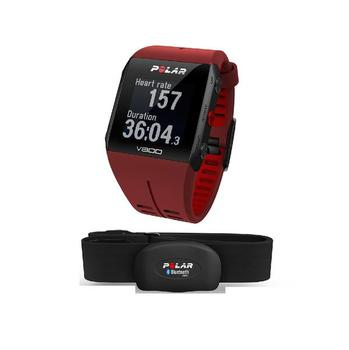 Polar V800 HR Red GPS Sports Watch with Heart Rate Monitor
