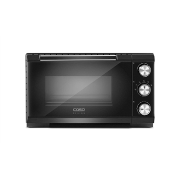 Caso Design-Oven TO 20  20 L, Black, 1500 W