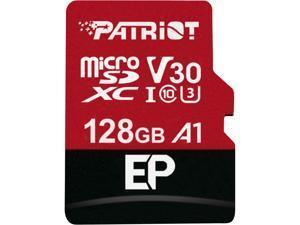 Atminties kortelė Patriot EP Series 128GB MICRO SDXC V30, up to 100MB/s
