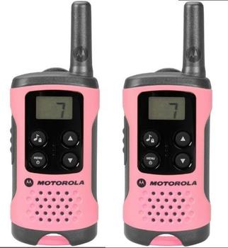Motorola T41 short-wave radio, 4km, Pink