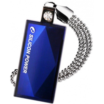SILICON POWER 8GB, USB 2.0 FLASH DRIVE TOUCH 810, BLUE