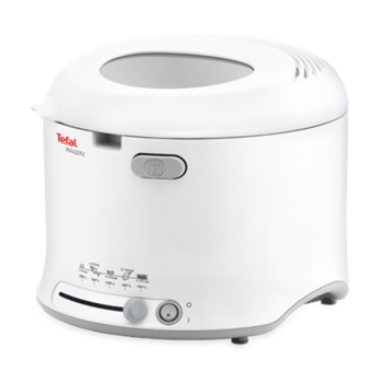 TEFAL FF123130 Deep Fryer, Capacity 1kg, Auto turn-off, Power 1600W, White