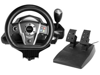 Game Controllers Steering Wheel TRACER Viper PS3/PS2/PC/(X