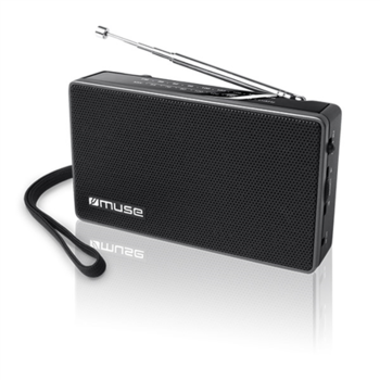 Muse M-030R Black, 2-band portable radio