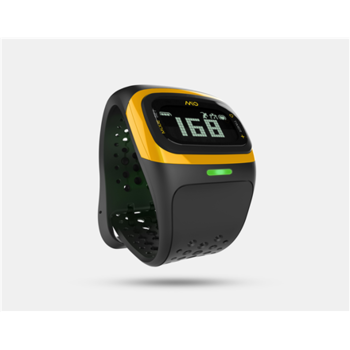 Mio ALPHA 2 LCD, Weight 53 g, Black, Yellow, Bluetooth, Heart rate monitor, Waterproof