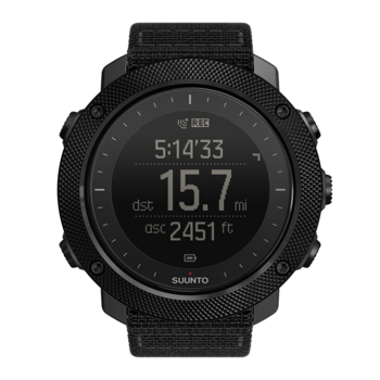 Suunto Traverse Alpha Stealth lauko sąlygoms pritaikytas laikrodis su GPS/GLONNAS ir universaliomis navigavimo funkcijomis, skirtas naudoti žvejojant ar medžiojant
