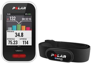 Polar V650 HR Black GPS Cycling Computer with Heart Rate Monitor