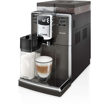 Saeco Incanto Super-automatic espresso machine HD8919/59 Integrated milk jug  and  frother Silver Pantera Extra capacities