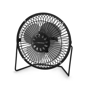 Esperanza EA149K Air fan, USB connection, Black