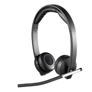 Logitech H820E Wireless Headset Dual