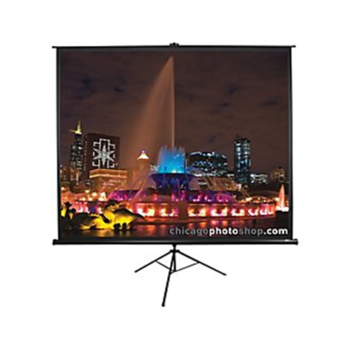 "Elite Screens Tripod Series T113UWS1 Diagonal 113 "", 1:1, Viewable screen width (W) 203 cm, Black"