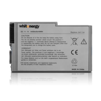 Nešiojamo kompiuterio baterija Whitenergy Dell Latitude D500 11.1V 4400mAh