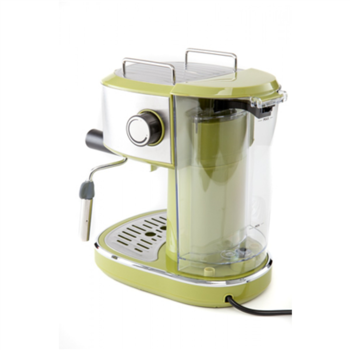 Camry Espresso machine CR 4405g Pump pressure 15 bar, Built-in milk frother, Semi-automatic, 850 W, Green/ stainless steel