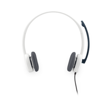 Logitech Stereo Headset H150, PC, White