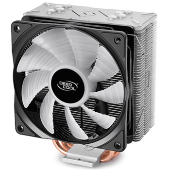 Deepcool Gammaxx GT cooler,  0.5mm thickness fins and 4 heat-pipes, 120mm RGB fan, Intel /115x/1366/20XX and AMD AM x/FM x universal, Air cooler, Intel 150W , AMD 140 W