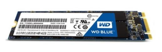 Western Digital Blue 250GB SATAIII M.2 WDS250G2B0B
