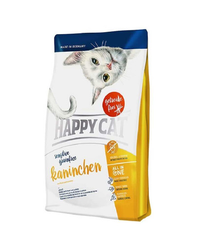 Happy Cat Sensitive Rabbit Grainfree 1.4 kg