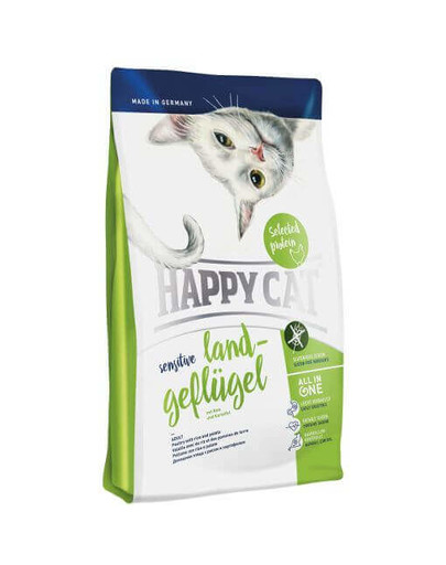 Happy Cat Sensitive Poultry Glutenfree 1.4 kg