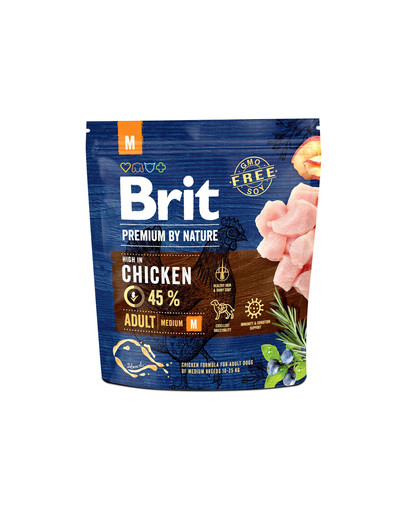 BRIT Premium By Nature Adult Medium M 1 kg