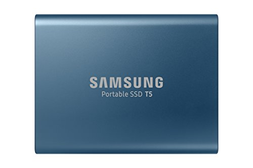 Samsung MU-PA250B. Solid-state drive capacity: 250 GB, Read speed: 540 MB/s, Write speed: 540 MB/s. USB connector: USB Type-C, USB version: 3.1 (3.1 Gen 2). Colour of product: Blue, Housing material: Aluminium, Certification: CE, BSMI, KC, VCCI, C-tick, F