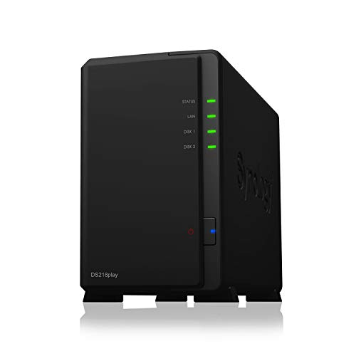 SYNOLOGY DS218play 2-Bay NAS-case