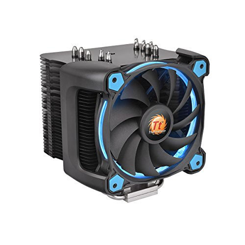 Thermaltake Universal CPU cooler Riing Silent 12 Pro Blue, whit 120mm PWM fan