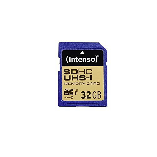 Intenso SDHC Card           32GB Class 10 UHS-I 3421480