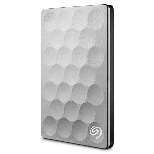 Seagate Backup Plus Ultra Slim External Hard Drive 1TB Platinum
