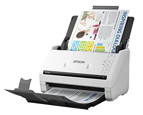 Epson WorkForce DS-530 Sheet-fed, Document Scanner