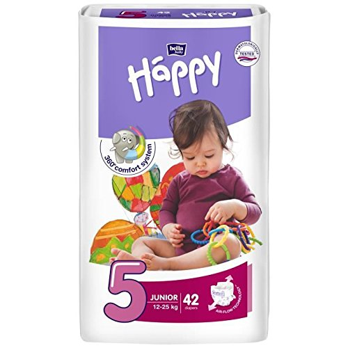 Diapers Bella Happy Sauskelnės 5 Junior 12 25 Kg 42 Vnt Price