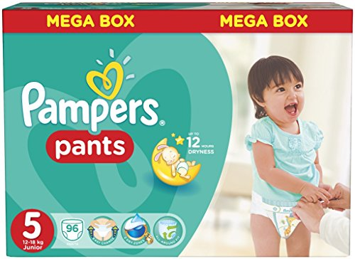 Pampers - Die Schlicker ActivePants 5 Junior Mega Box 96 pc