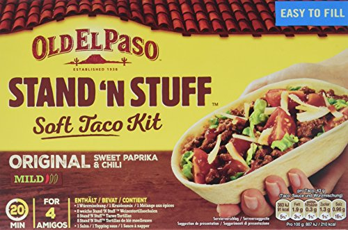 Rinkinys OLD EL PASO STAND AND STUFF, 345 g