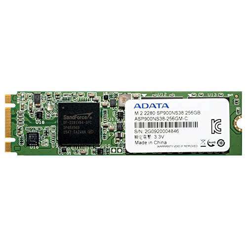 A-Data Premier Pro SP900 256 GB, SSD form factor M.2, SSD interface M.2, Write speed 530 MB/s, Read speed 550 MB/s