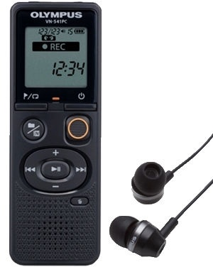 Olympus VN-541PC + Headset E39