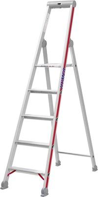 Hymer Step Ladder with Platform Single-Sided 8-Steps