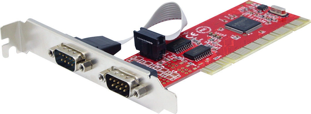 Unitek 2 x COM (Serial) Port PCI Y-7503