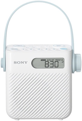 Sony Shower Radio with Speaker ICF-S80