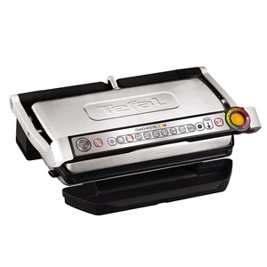 Tefal Optigrill+ XL. Total power: 2000 W, Type: Contact grill, Heat source: Electric. Form factor: Tabletop, Colour of product: Black, Brushed steel, Cooking surface shape: Rectangular