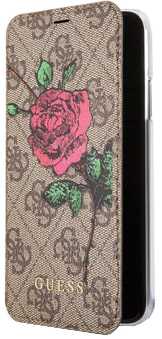 9a63b702bf8 Cell Phone Cases Guess 4G Flower Desire Book Case For Apple iPhone 7 ...