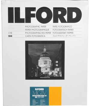 Ilford MG IV 25M Satin 178 x 240 100